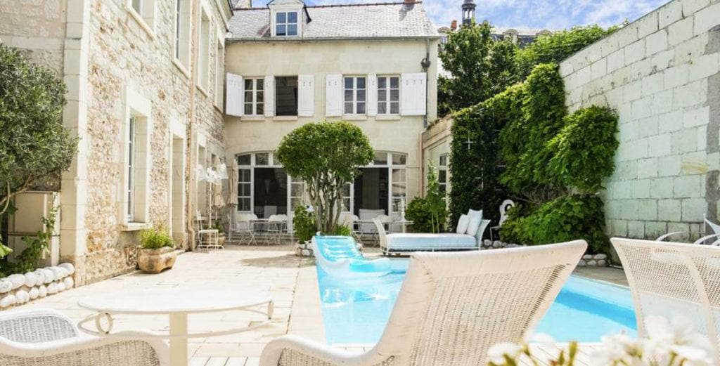 Property Image 2 - Loire Valley Elegant Stone Mansion with Gorgeous Interior and Pool