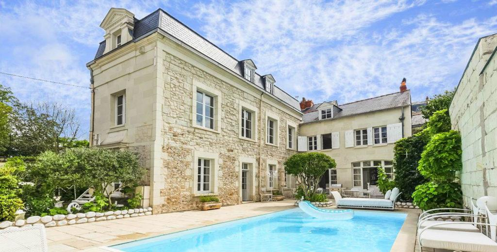 Property Image 1 - Loire Valley Elegant Stone Mansion with Gorgeous Interior and Pool