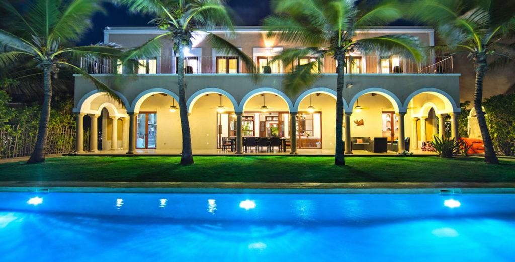 Property Image 2 - Oceanfront Hacienda-Style Mansion in the Riviera Maya