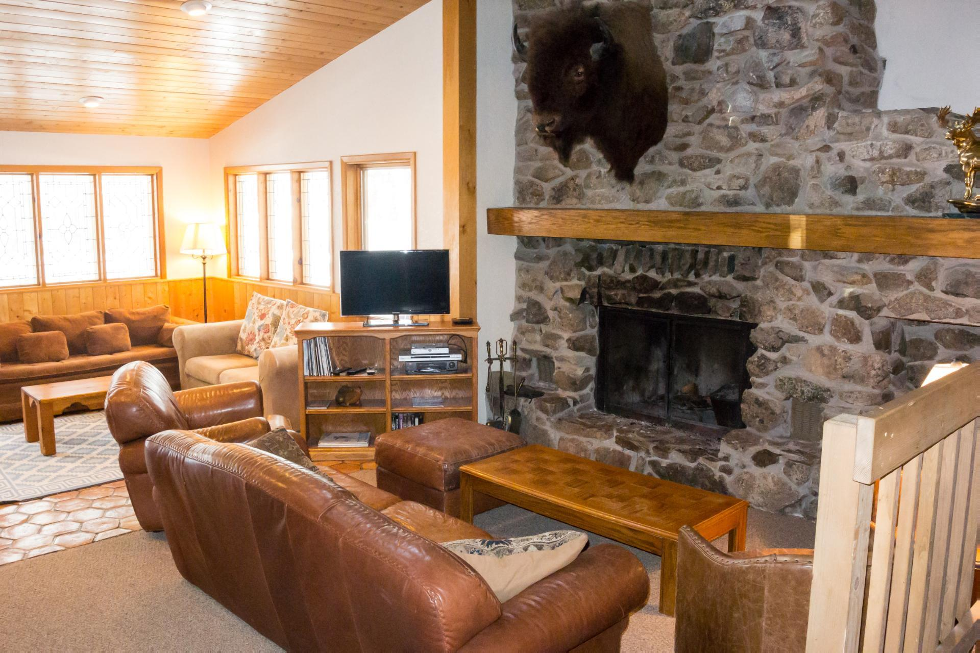 Property Image 2 - Private Modern Home with Stone Fireplace near Ski Base