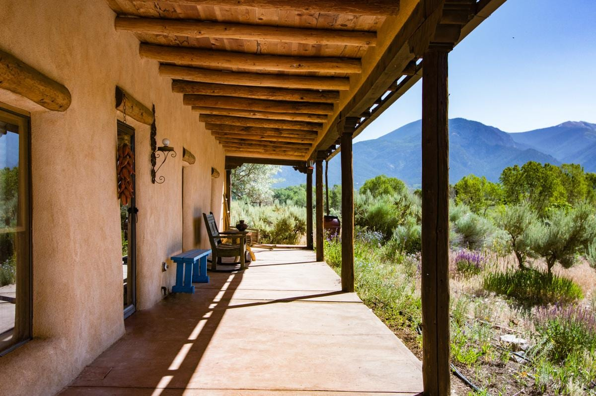 Charming, Traditional Adobe Home with Panoramic Views