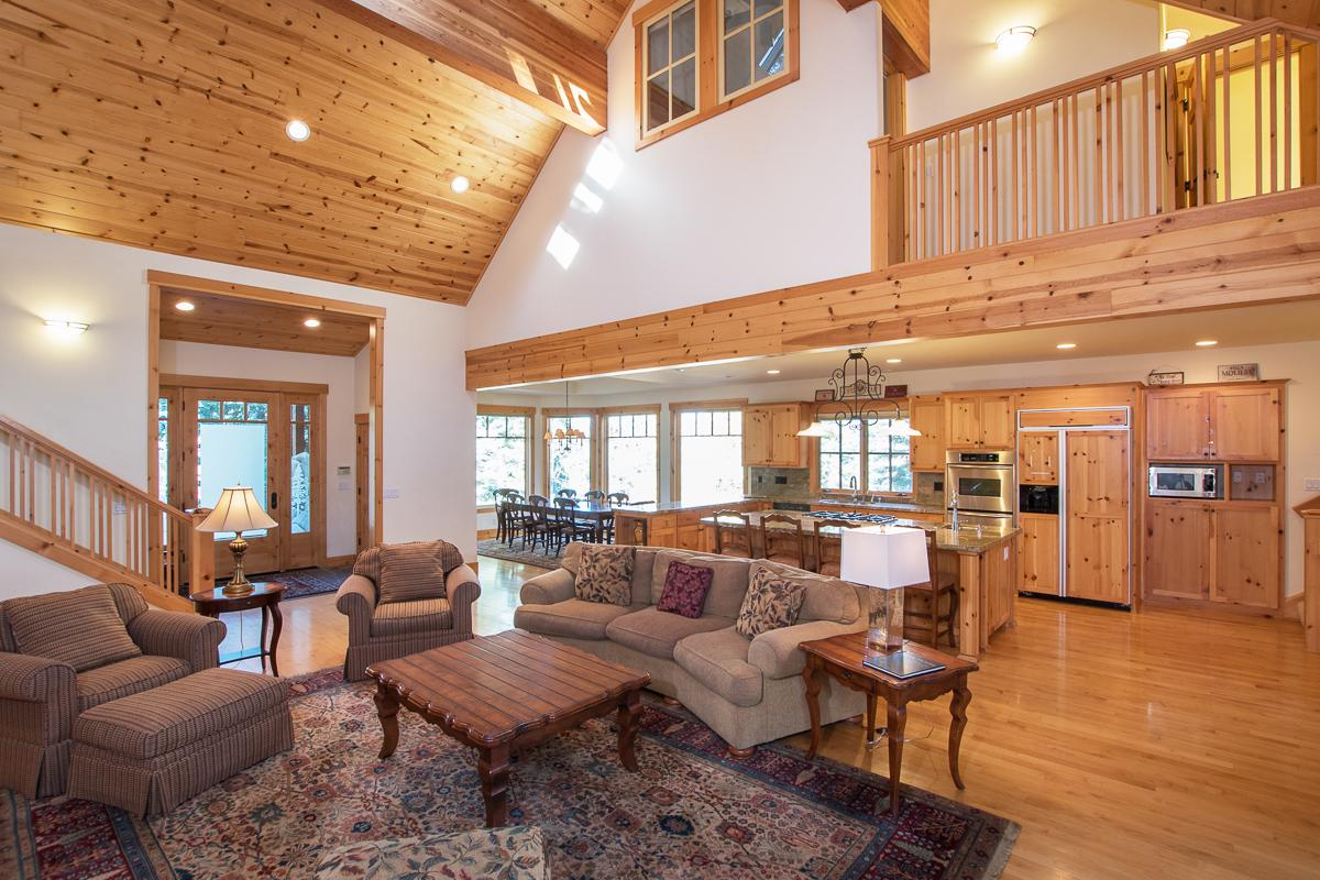 Property Image 2 - Custom-Built Log Home with Pool and Hot Tub Access