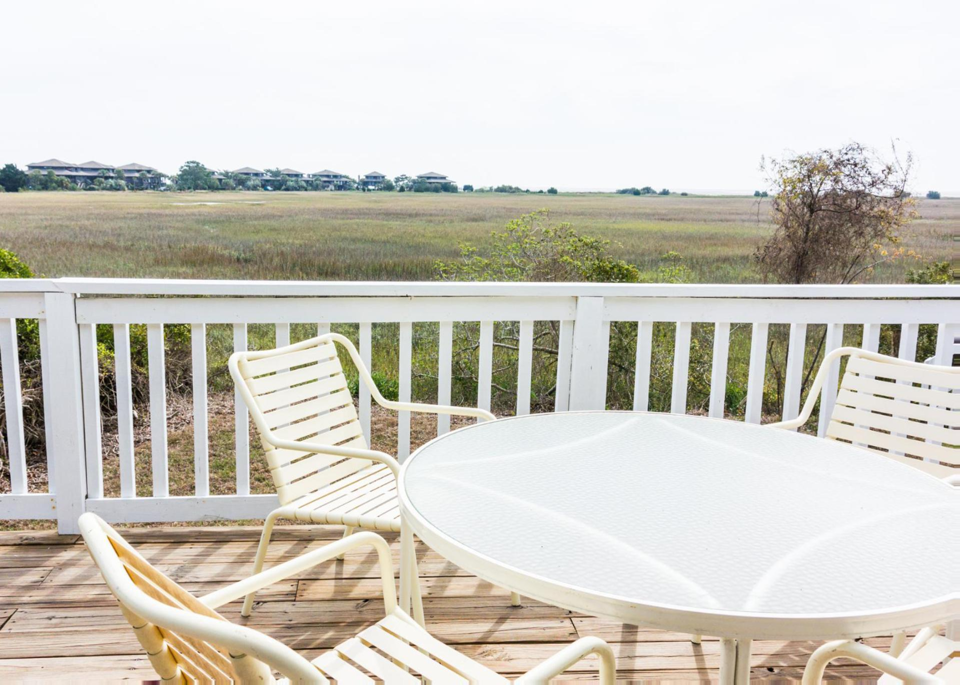 Pet-Friendly Home with Panoramic Salt-Water Marsh Views
