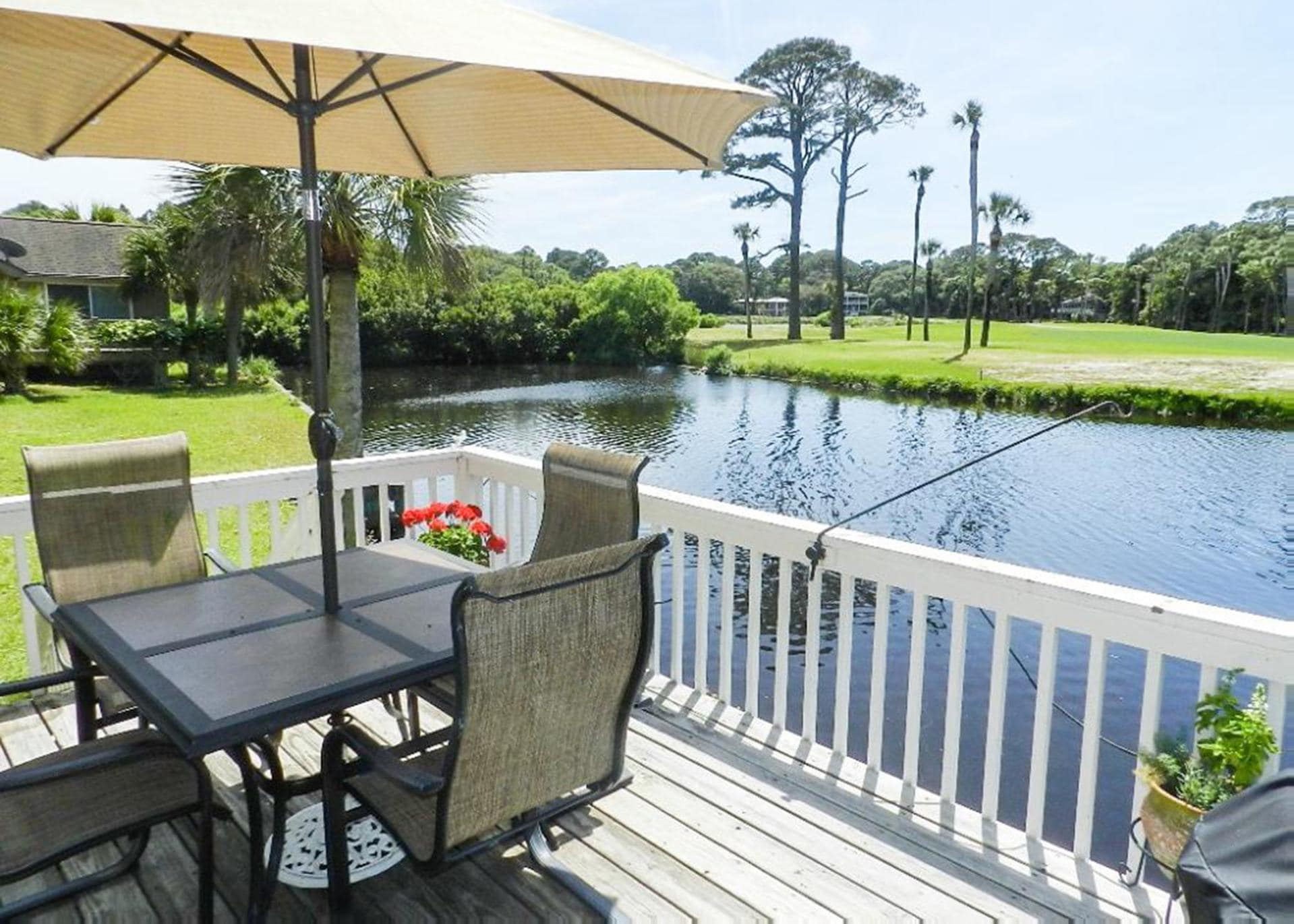 Pet-Friendly Home on Calm Lagoon with Golf Course Views