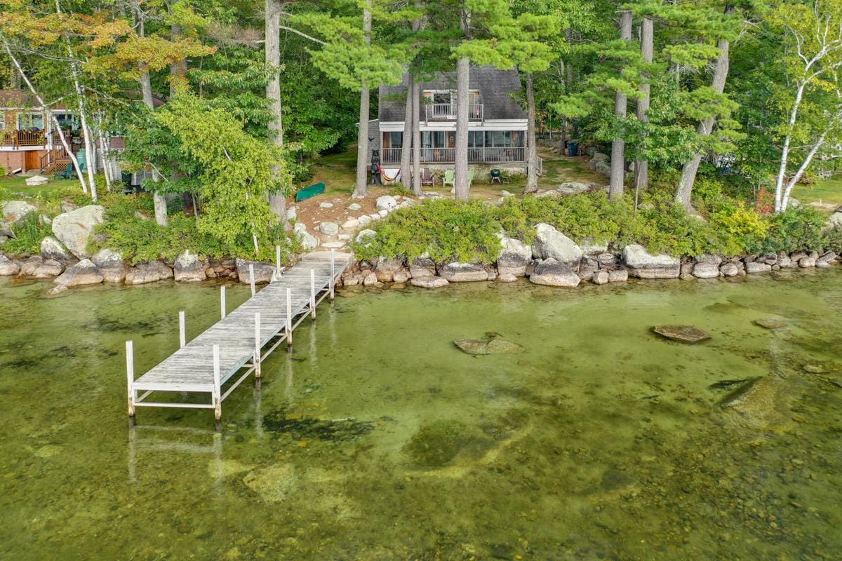 Property Image 1 - Pet-friendly Lakefront Cottage with Sunset Views