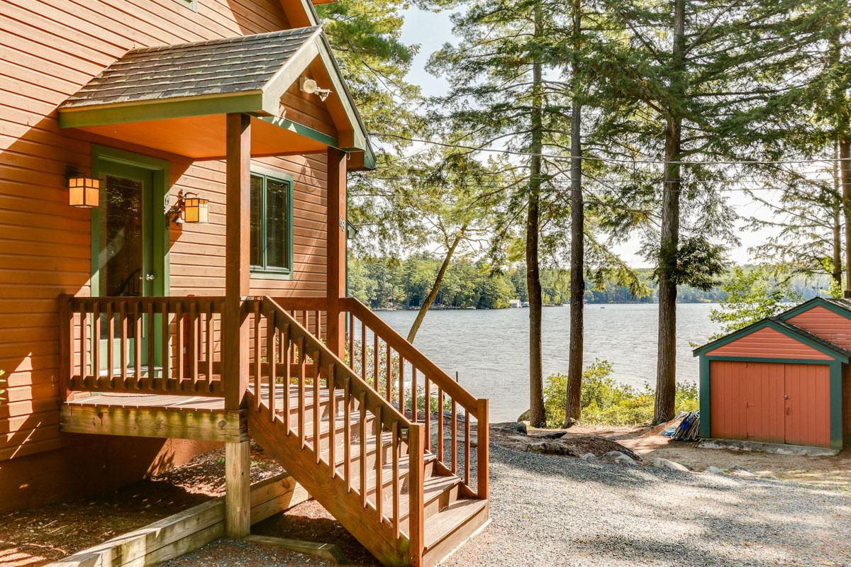 Lakeside Home with 180-Degree Views and Large Dock