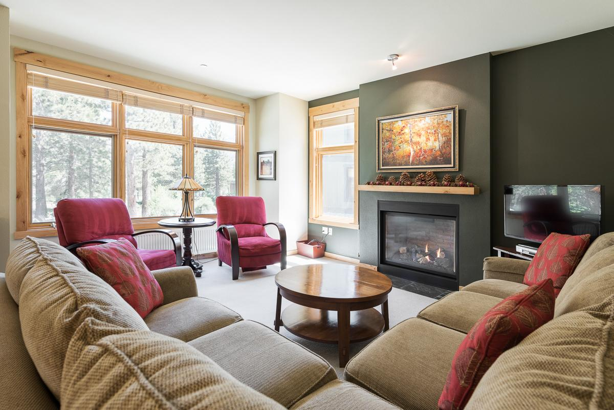 Property Image 1 - Elegant Ski Condo on Golf Course with New Furnishings