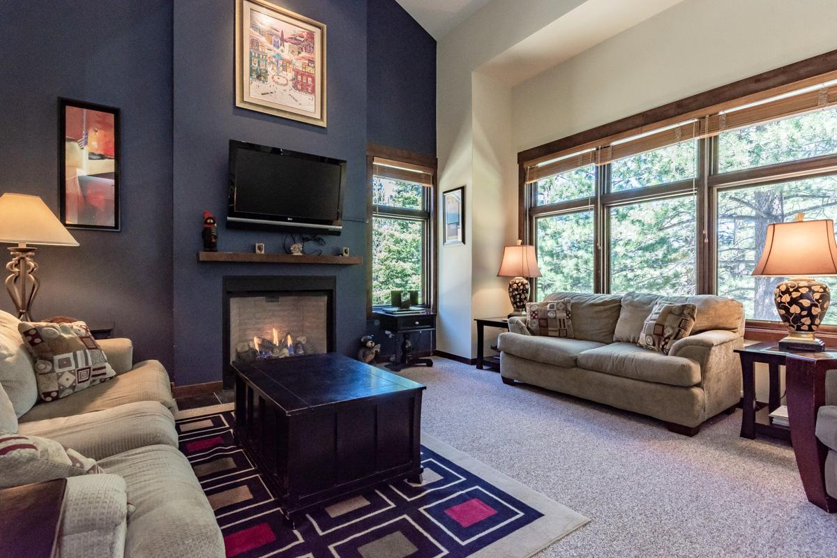 Upscale Ski Condo on Wooded Grounds Near Golf Course