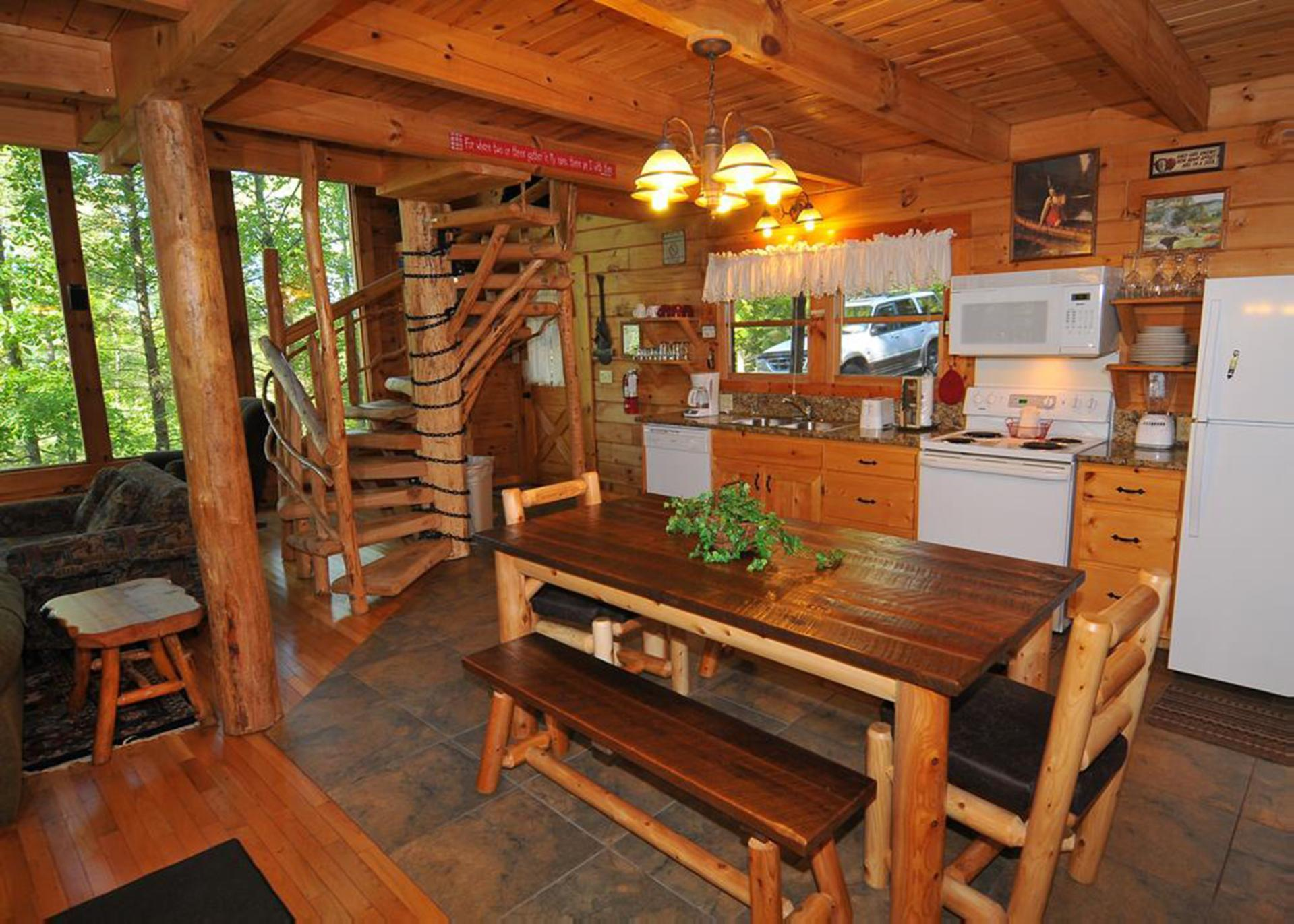 Modern A-Frame Cabin with Viewing Decks and Hot Tub