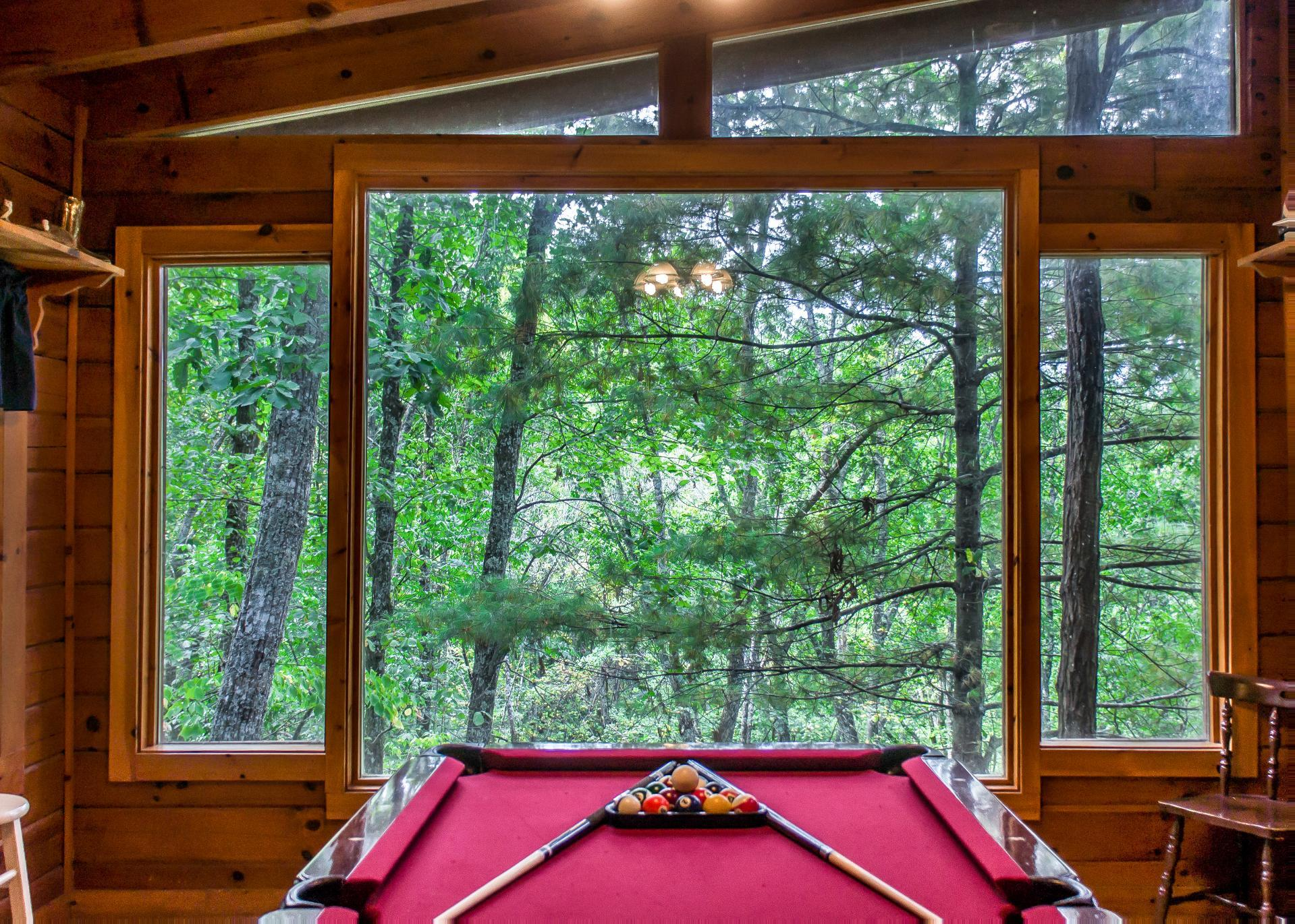 Property Image 2 - Cozy Secluded Cabin in Forest with Hot Tub