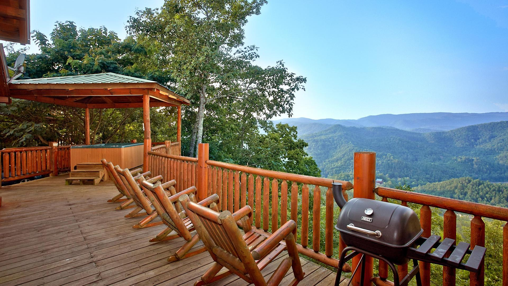 Property Image 1 - Spacious Cabin with Sweeping Mountaintop Views