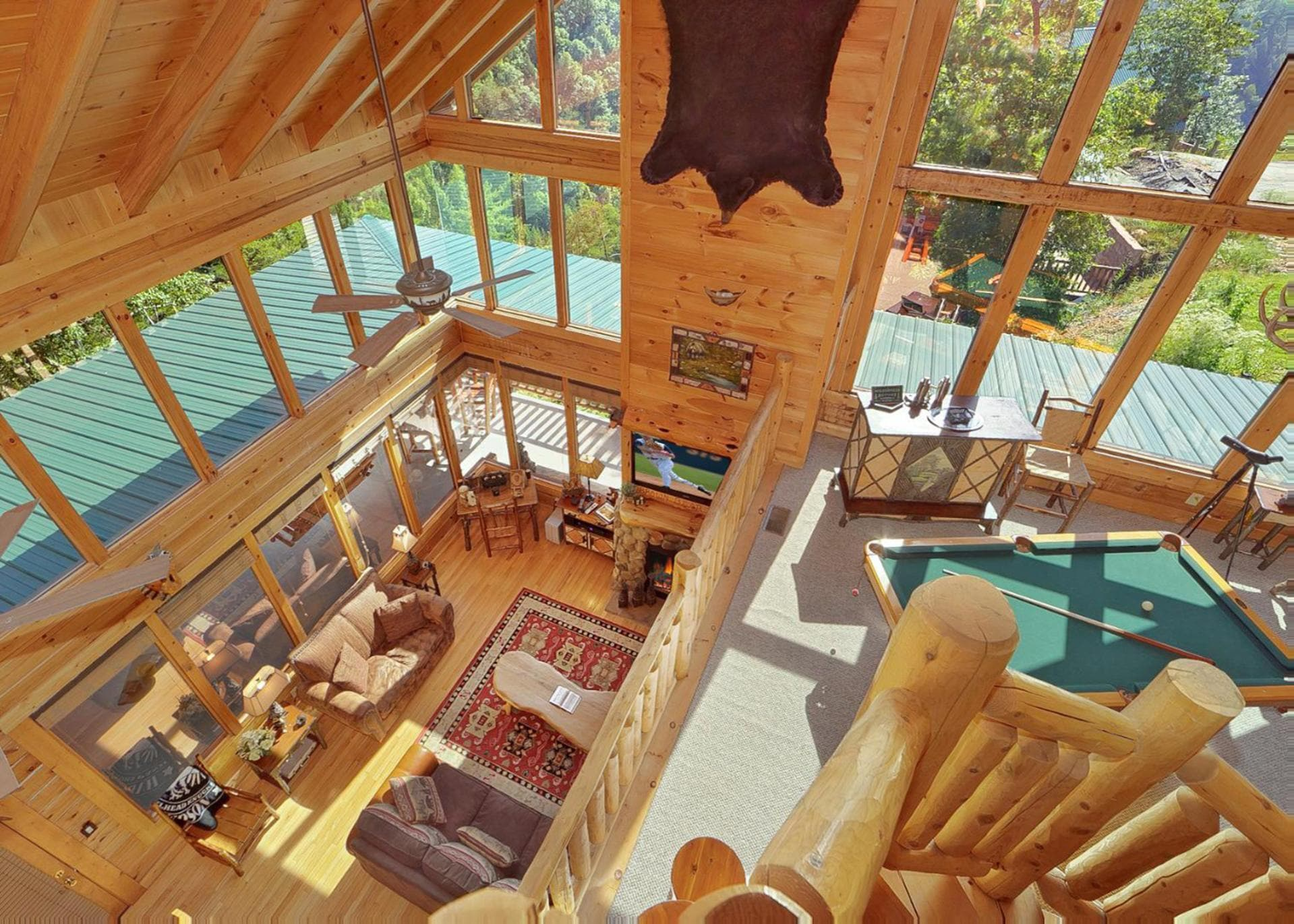 Property Image 1 - Mountaintop Cabin with Large Wrap-Around Deck