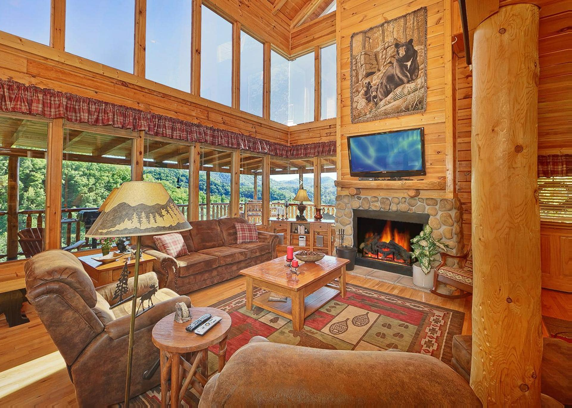 Property Image 1 - Classic Mountainside Cabin Perfect for Entertaining