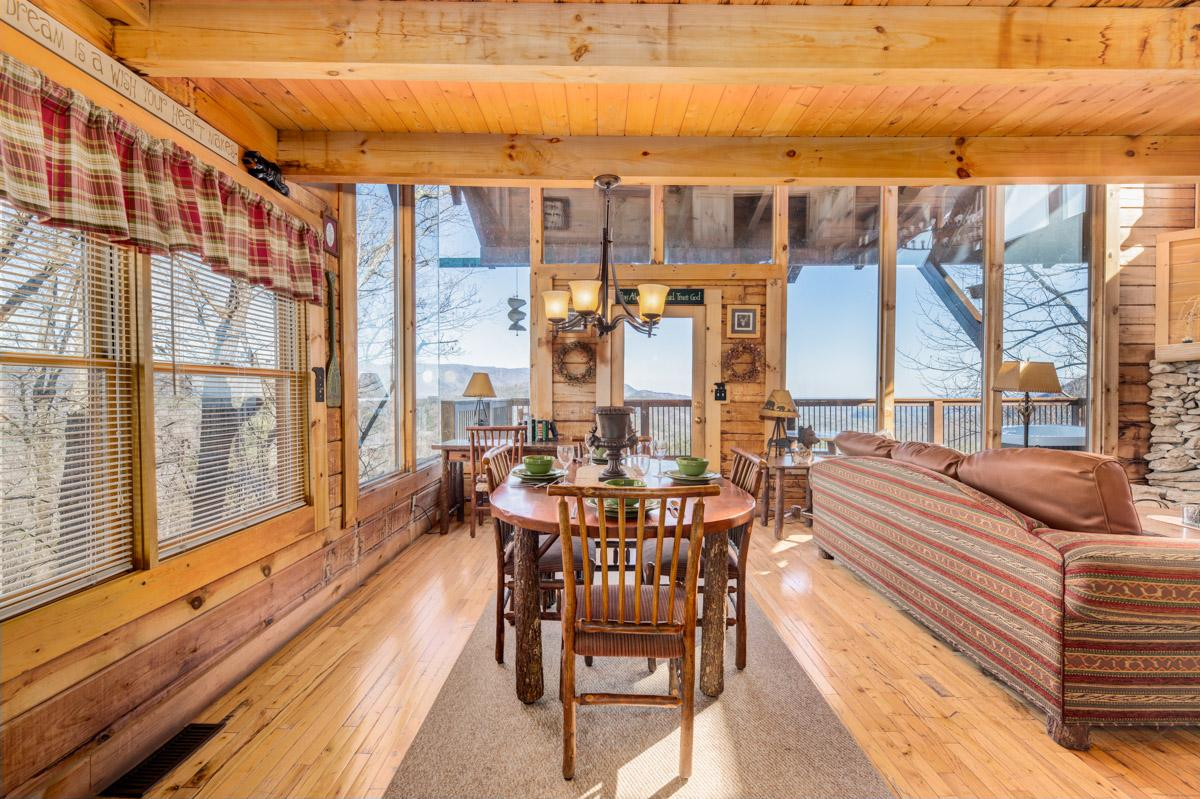 Property Image 2 - Luxury Cabin with Breathtaking Views from Veranda