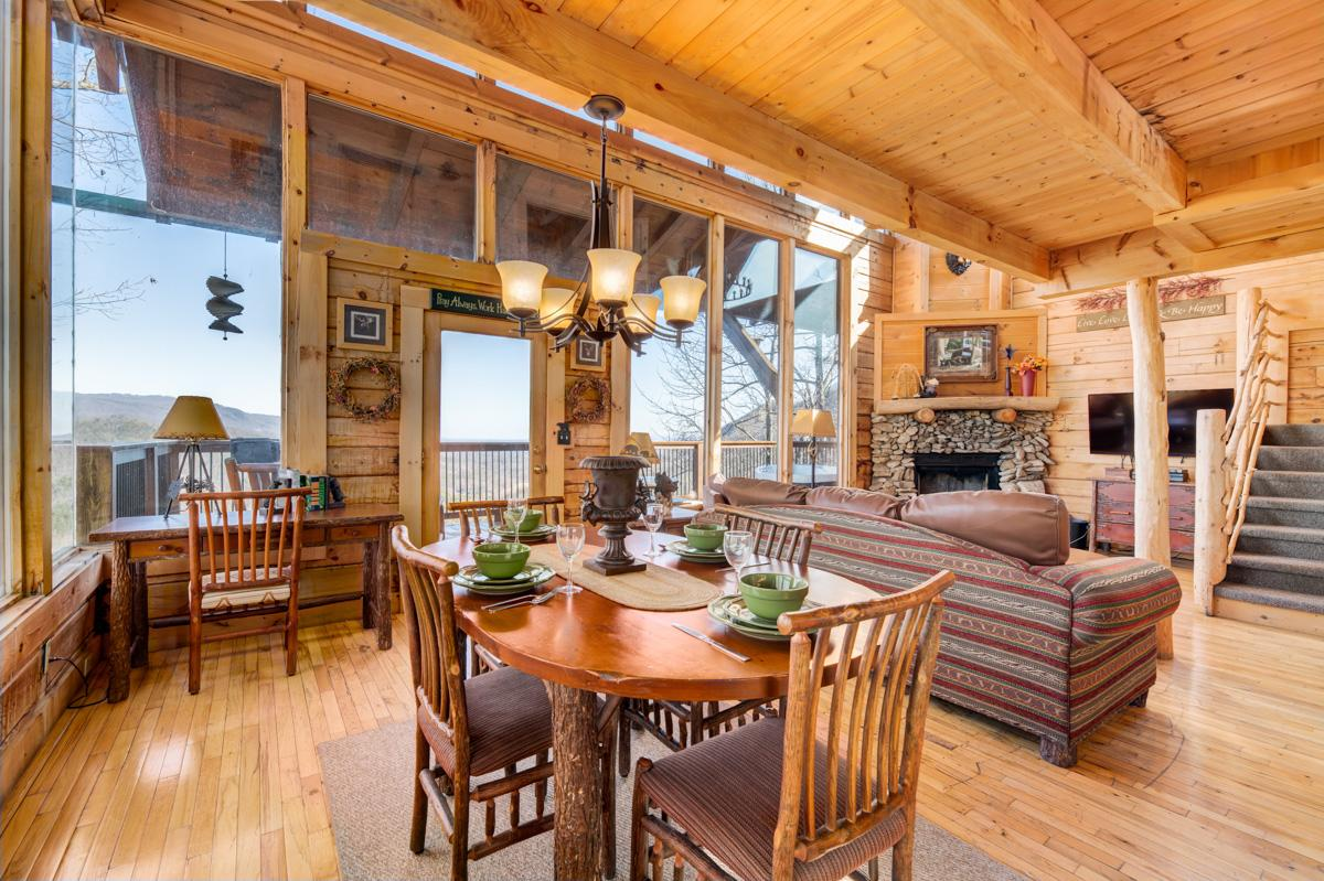 Property Image 1 - Luxury Cabin with Breathtaking Views from Veranda