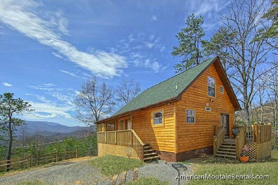 Property Image 1 - Pristine Cabin with Sauna and Mountainside View