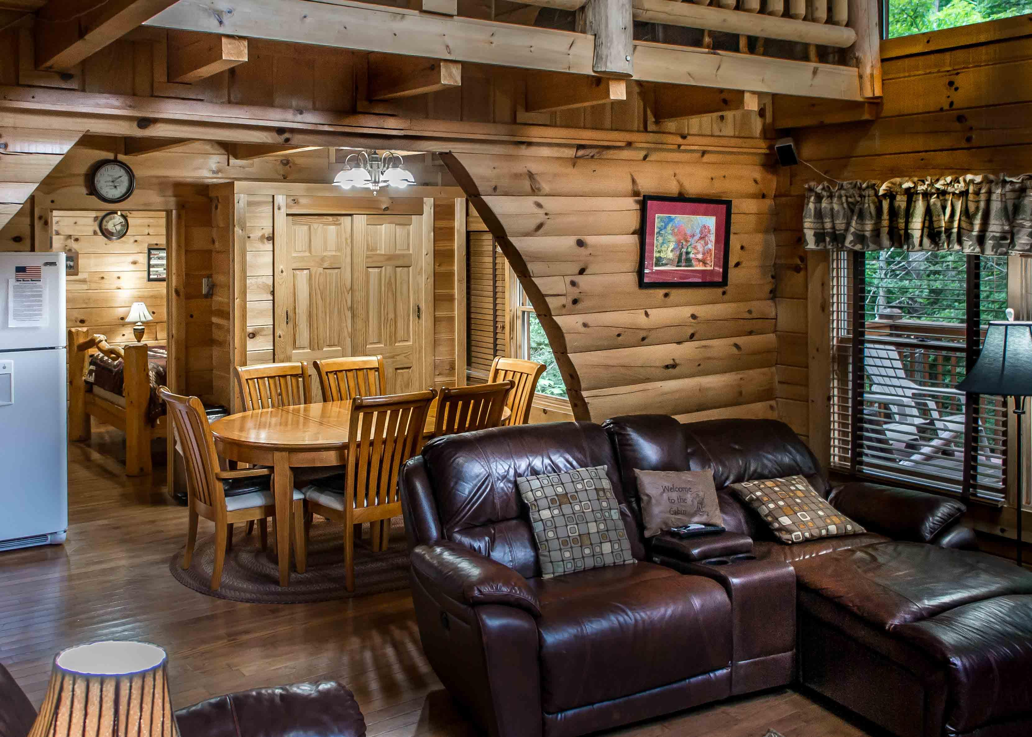 Cozy Cabin with Wrap-Around Deck and Hot Tub