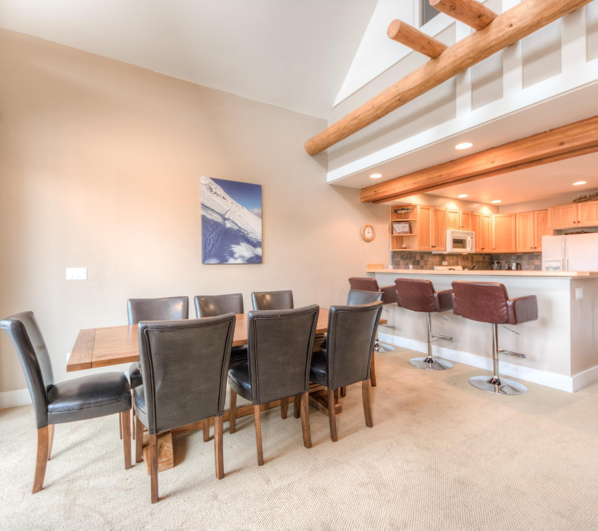Slopeside Moonlight Basin Townhome with Mountain Views