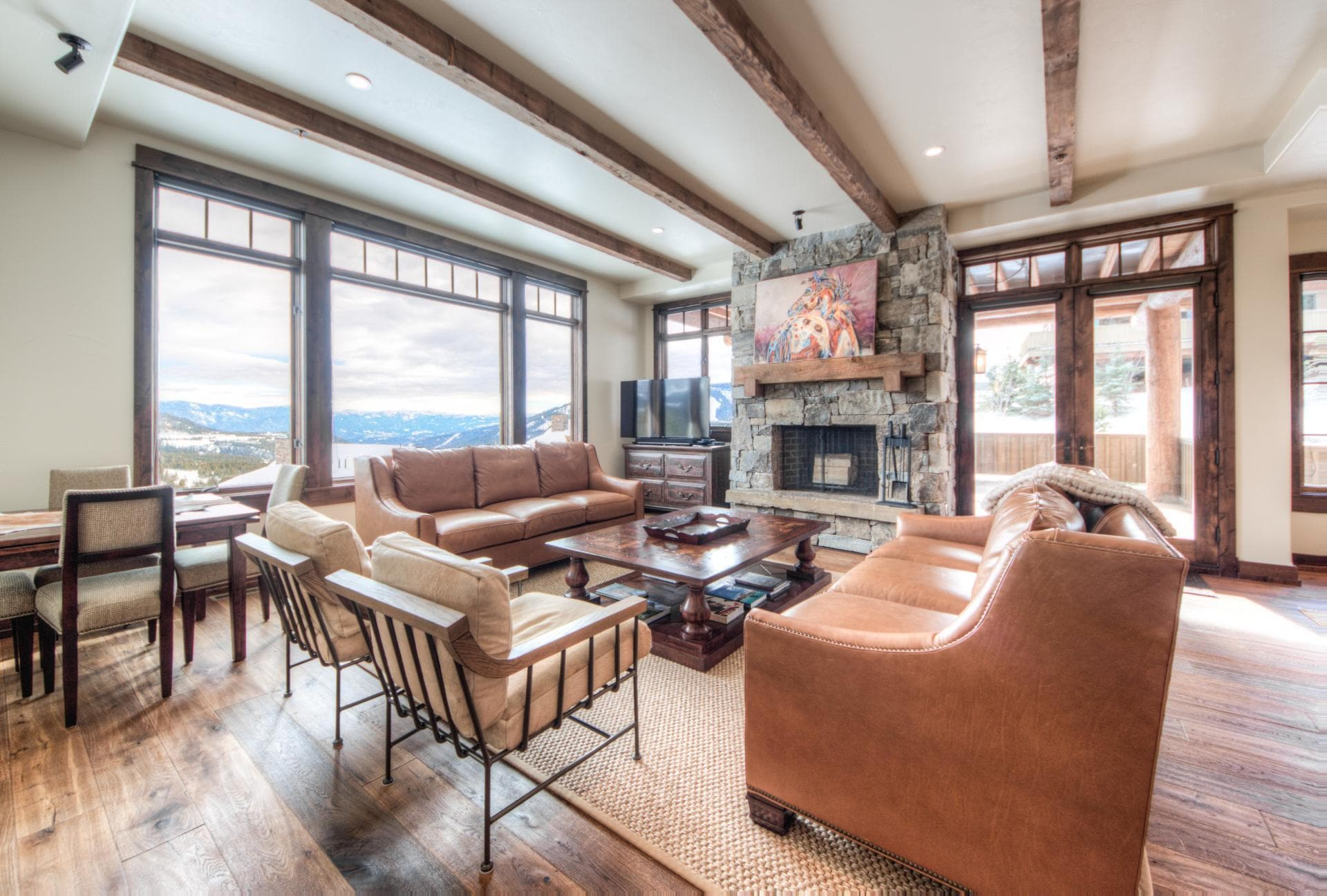 Ski-in, Ski-out Moonlight Basin Home with Game Room