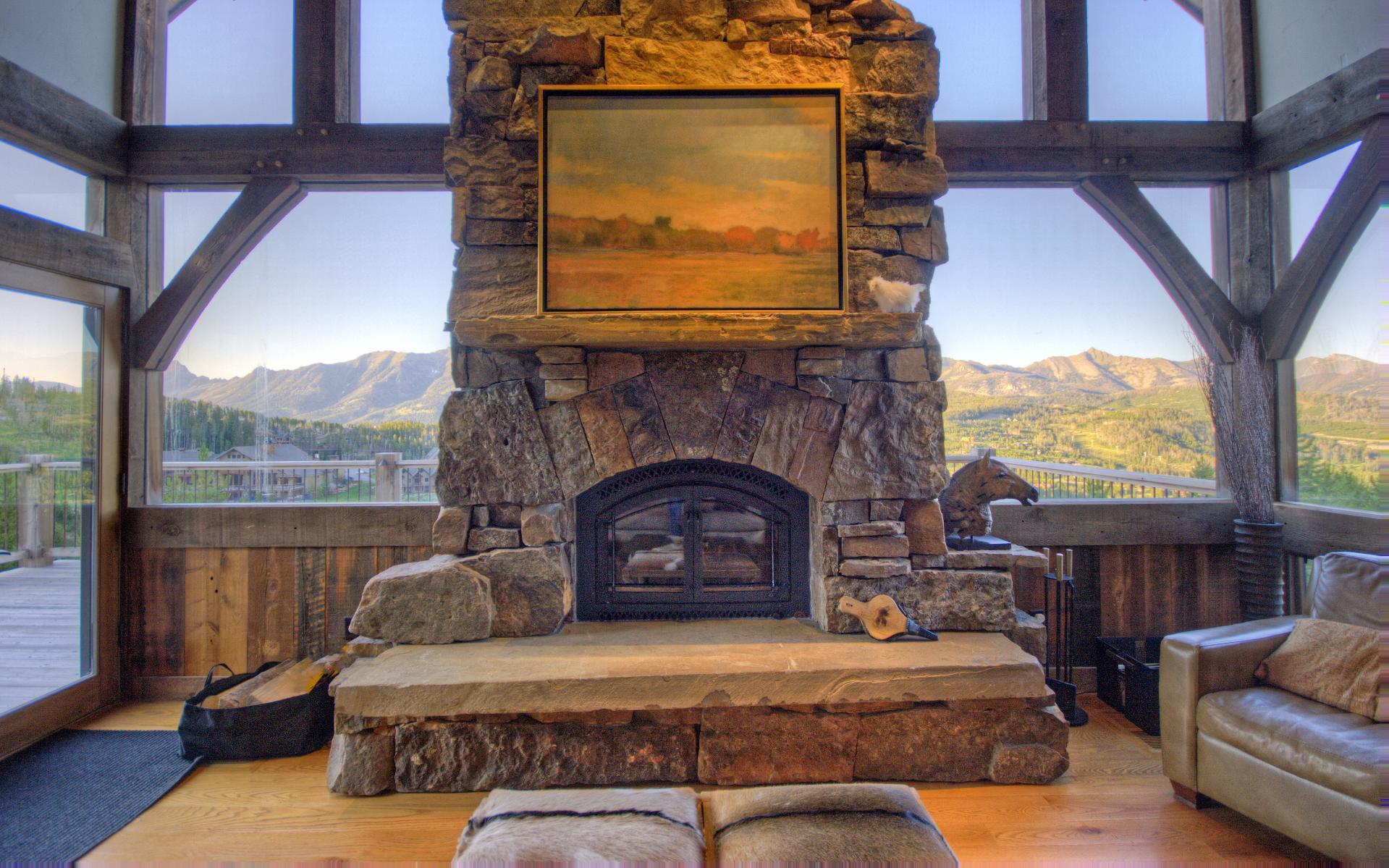 Private Ski-in, Ski-out Lodge with Home Theater