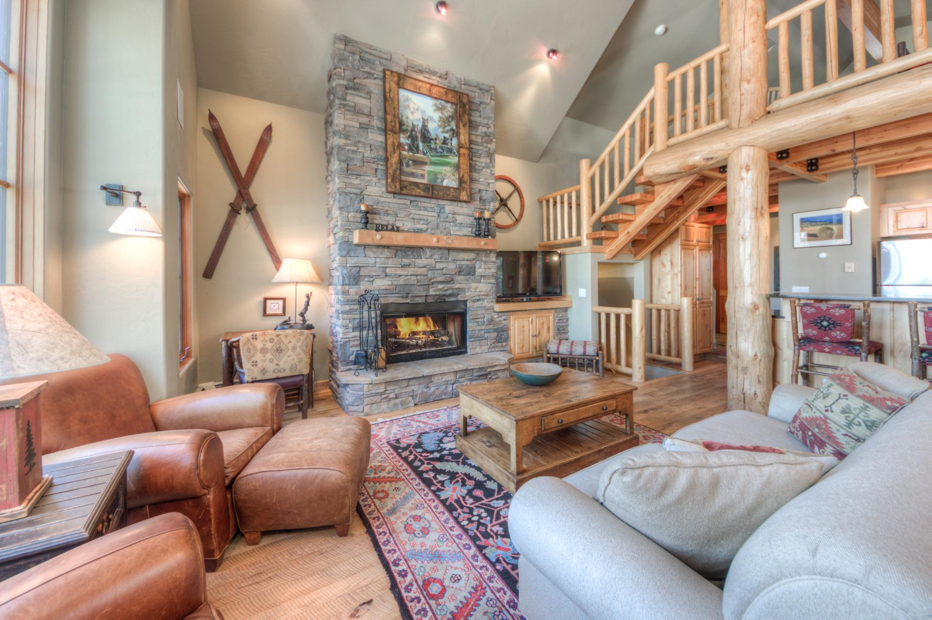 Family-Friendly Moonlight Basin Home with Private Deck