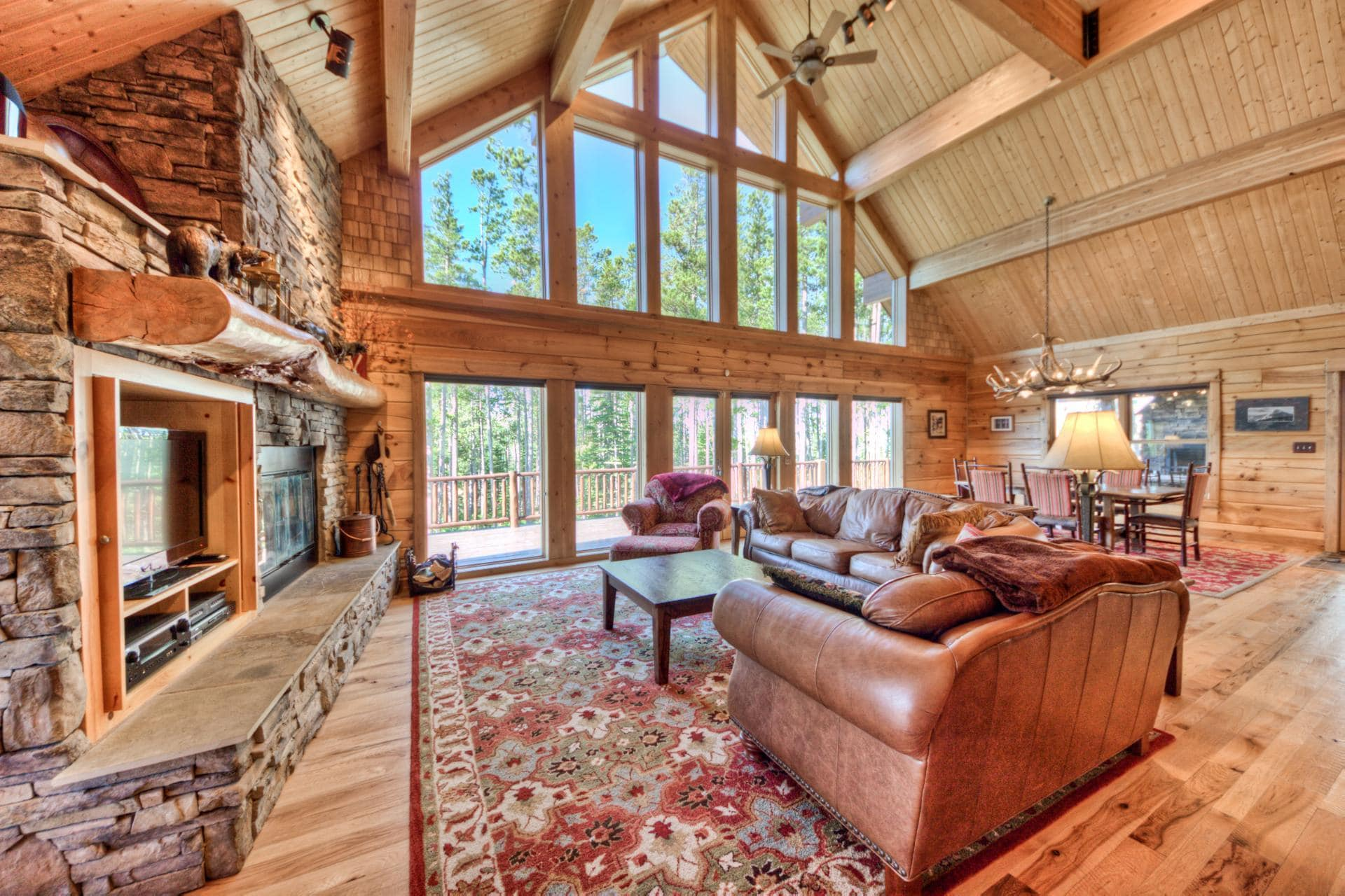Upscale Mountain Village Home with Theater and Hot Tub
