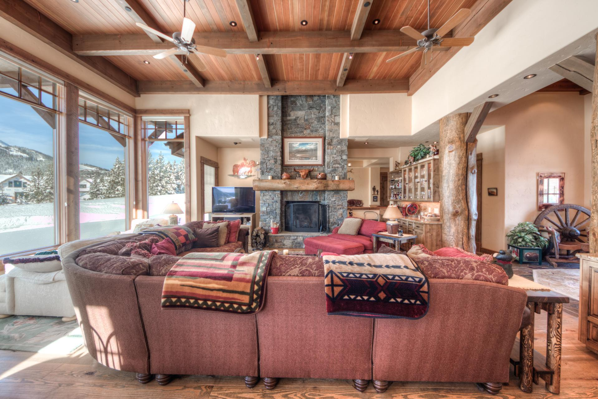 Property Image 2 - Family-Friendly Mountain Village Home with Game Room