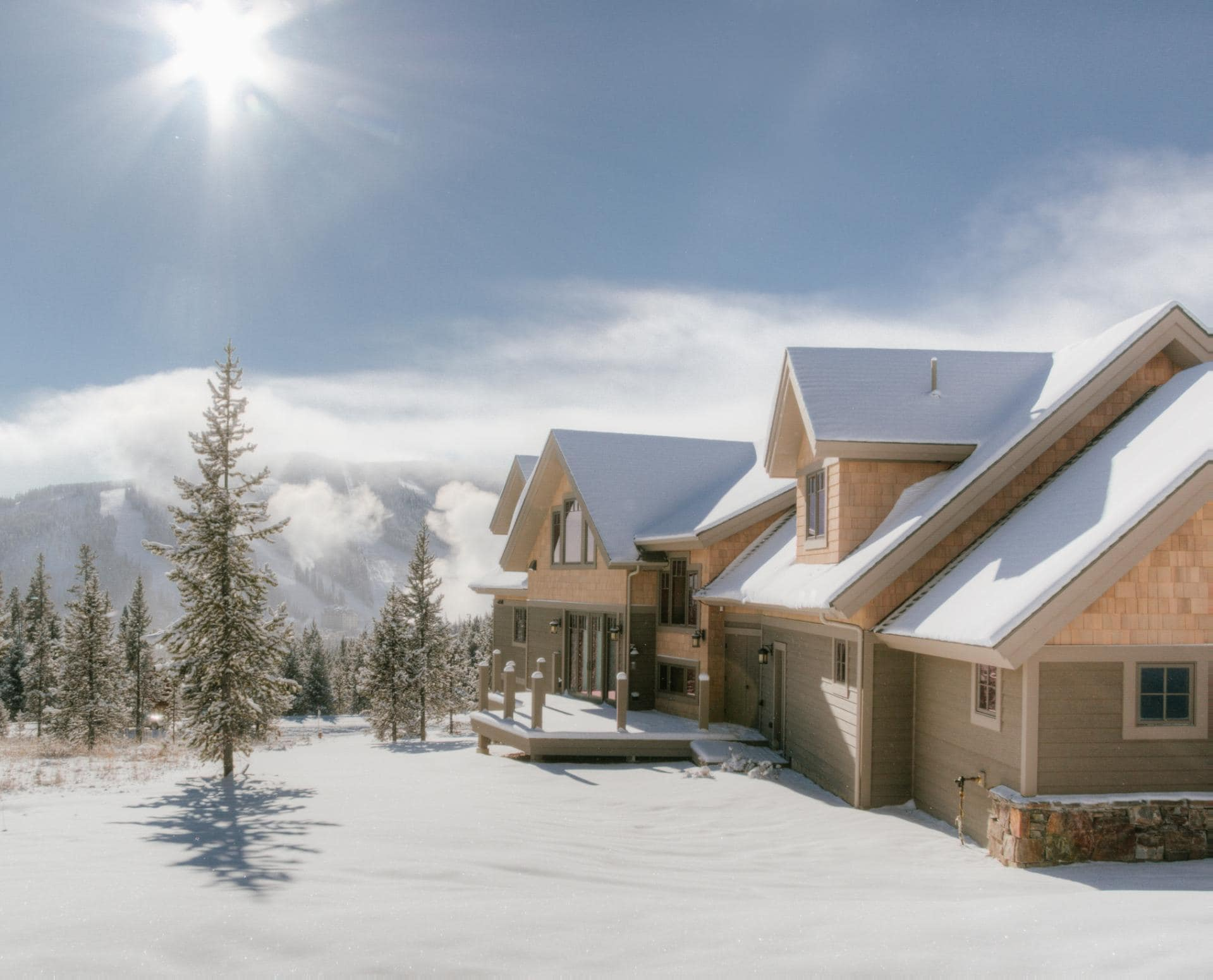 Ski-in, Ski-out Mountain Village Cabin with Game Room