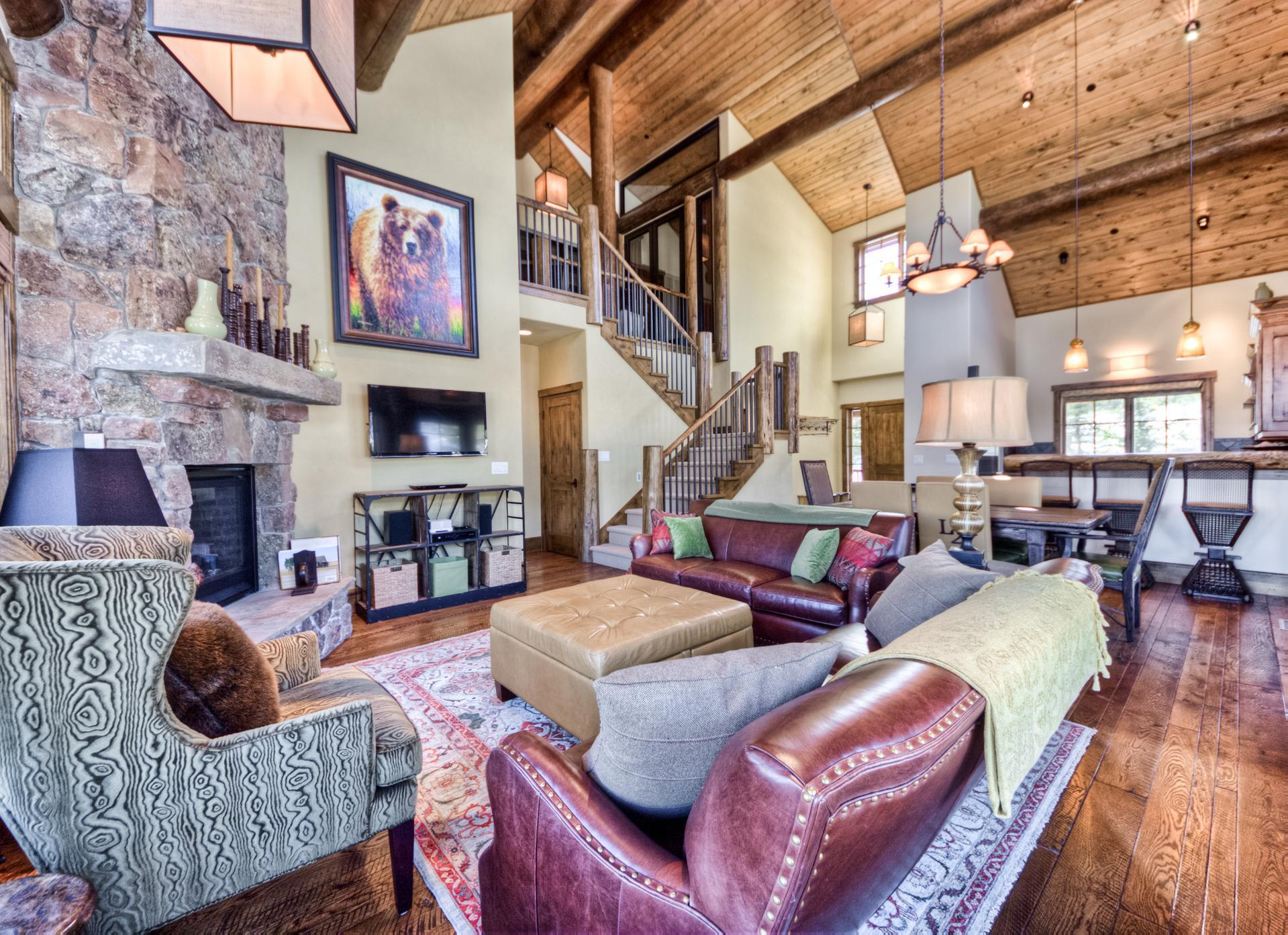 Upscale Spanish Peaks Home with Multiple Private Decks