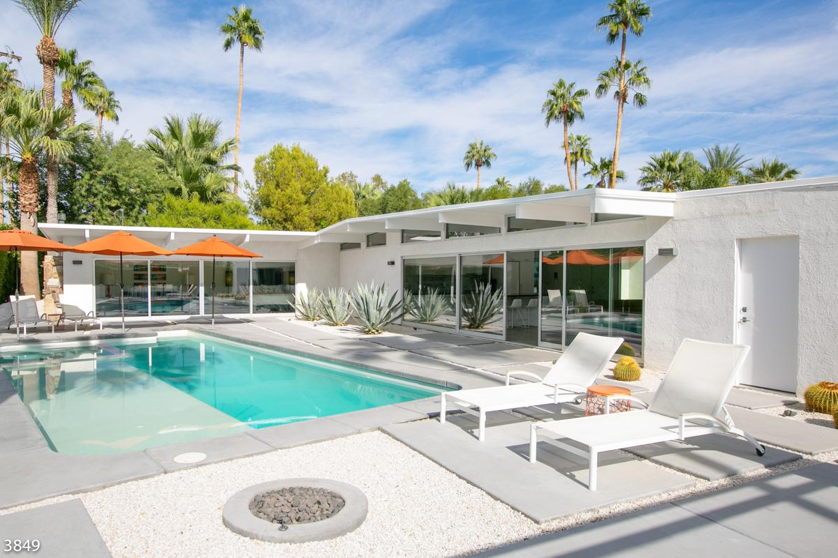 Property Image 2 - Bright, Mid-Century Home with Fire Pit and Ozone Pool