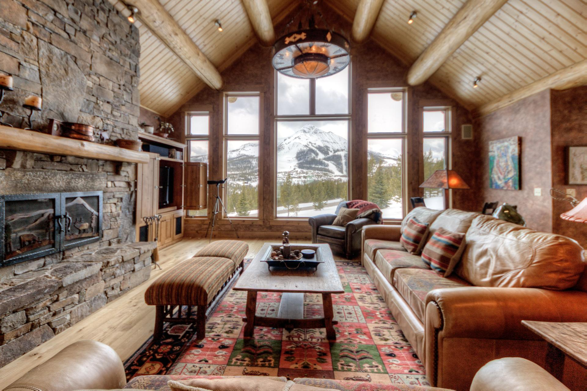 Private Lodge with Striking Lone Peak Views