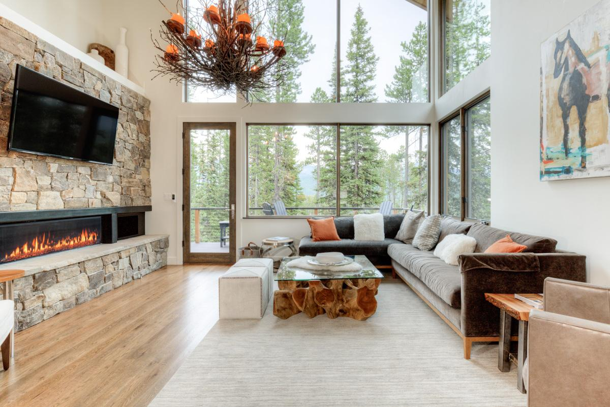 Chic Mountain Village Home with Striking Lone Peak View