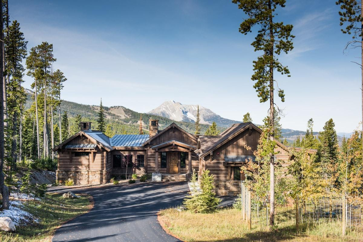 Elegant Mountain Home with Grand Views and Ski Access