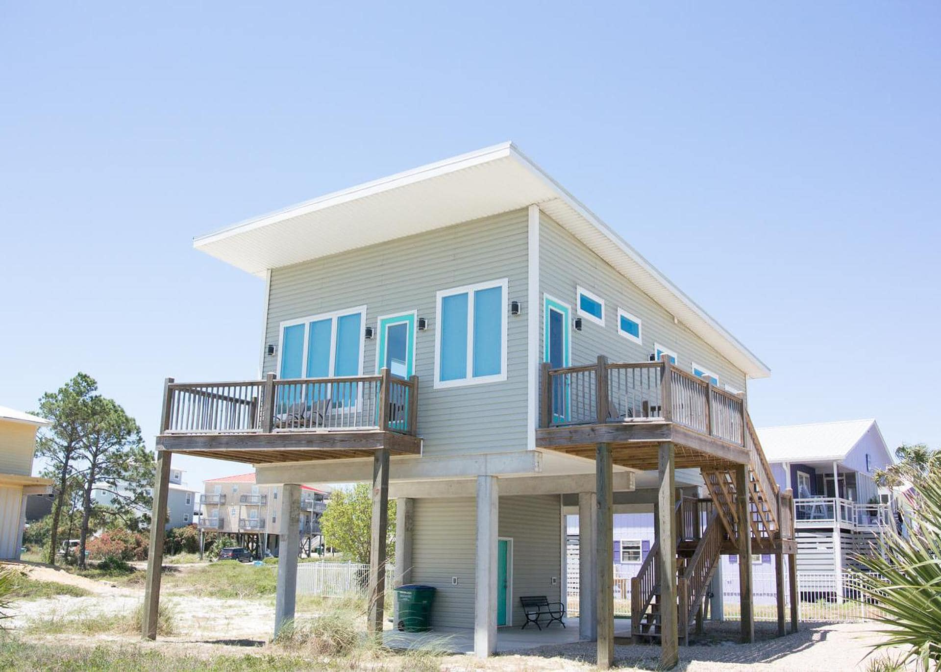 Property Image 1 - Modern Beach Home with Bright Decor and Private Deck