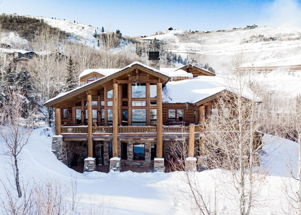 Property Image 1 - Elegant Mountain Home on Ski Run with Sauna and Hot Tub