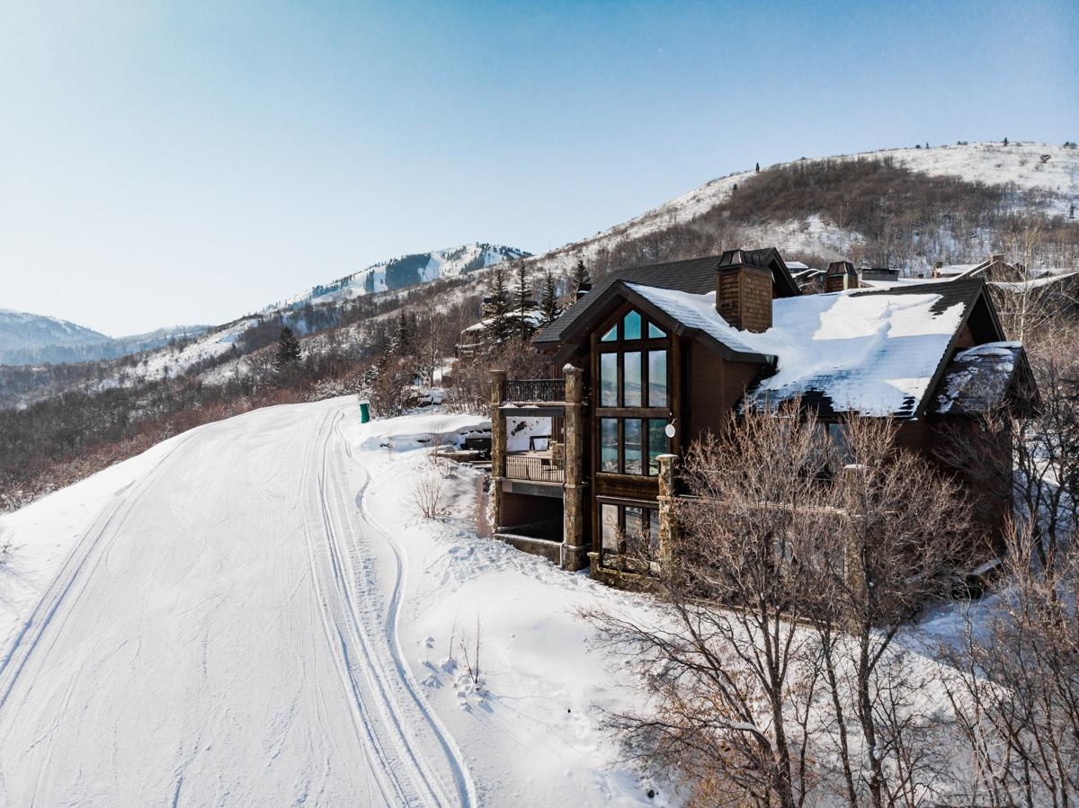 Property Image 1 - Grand Chalet on Ski Trail with Theater and Fire Pit