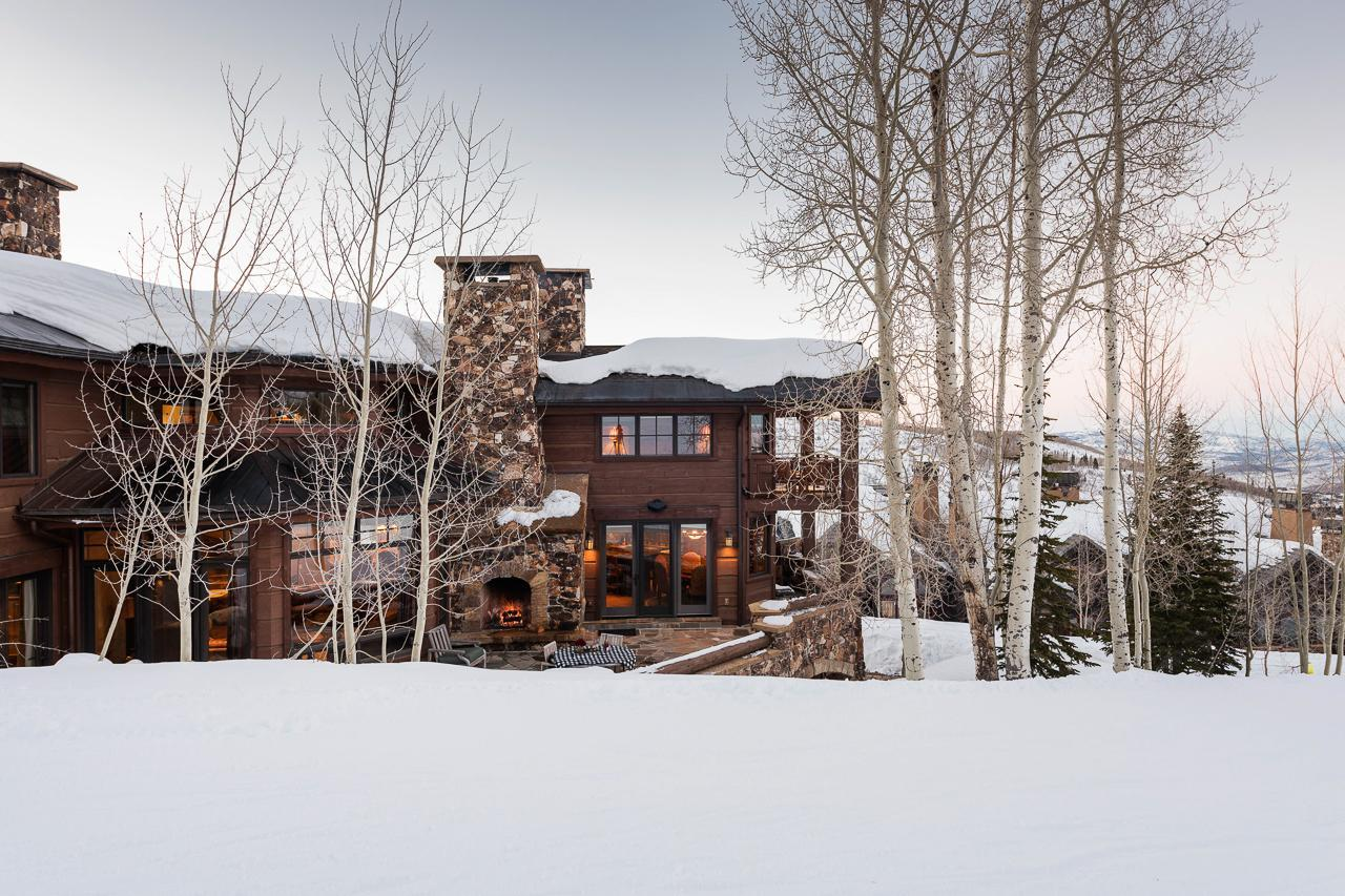 Property Image 1 - Slopeside Chalet with Hot Tub, Fire Pit and Theater