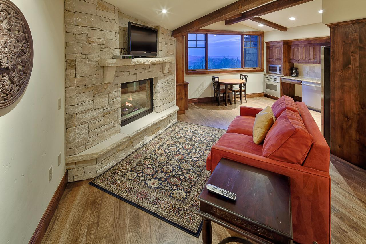 Property Image 1 - Charming, Open Condo on Ski Run with Two Fireplaces