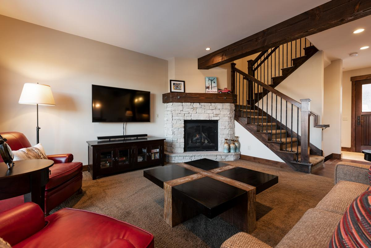 Property Image 1 - Cheerful, Slopeside Townhome with Hot Tub Access