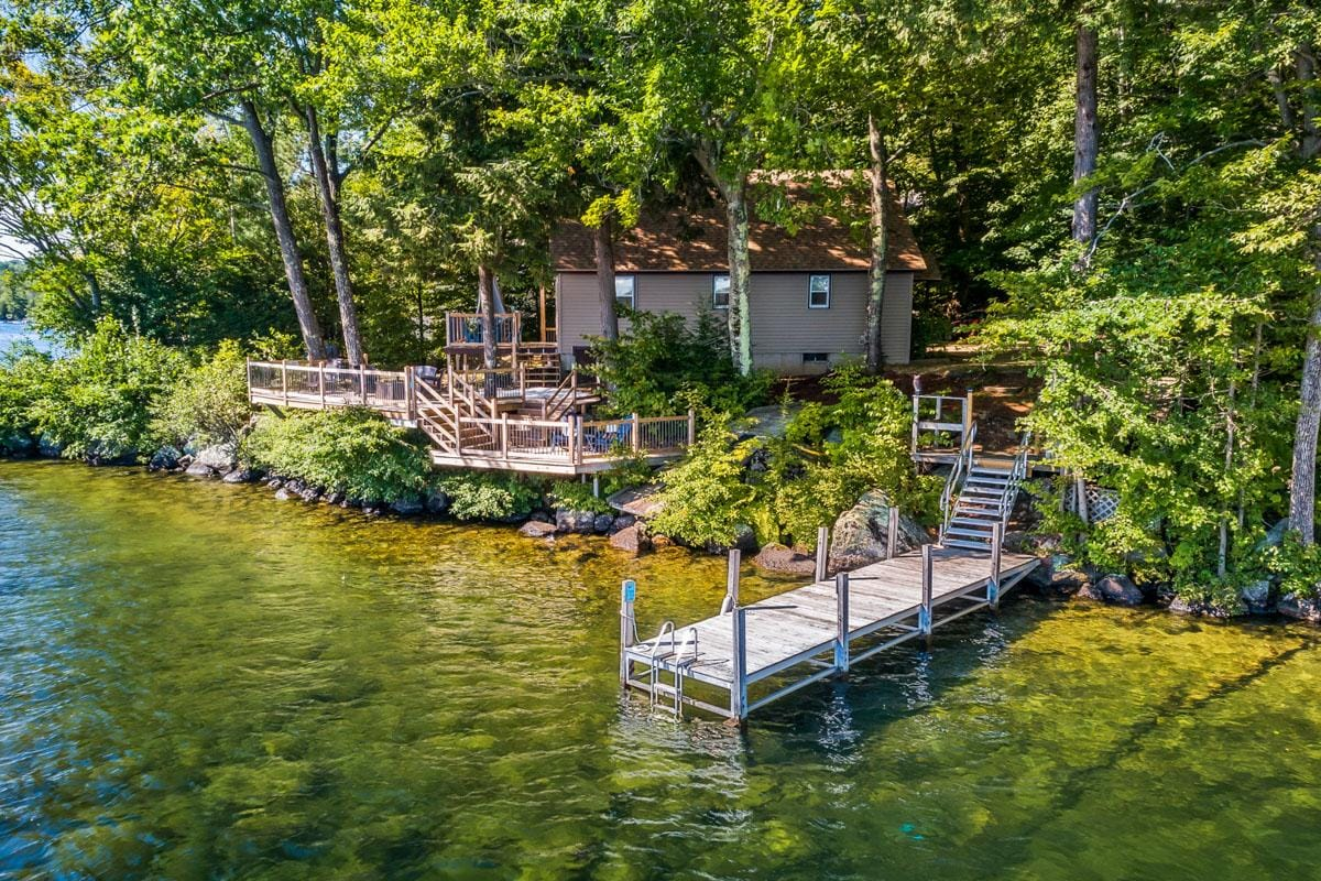 Peaceful Home with Waterside Deck and Private Dock