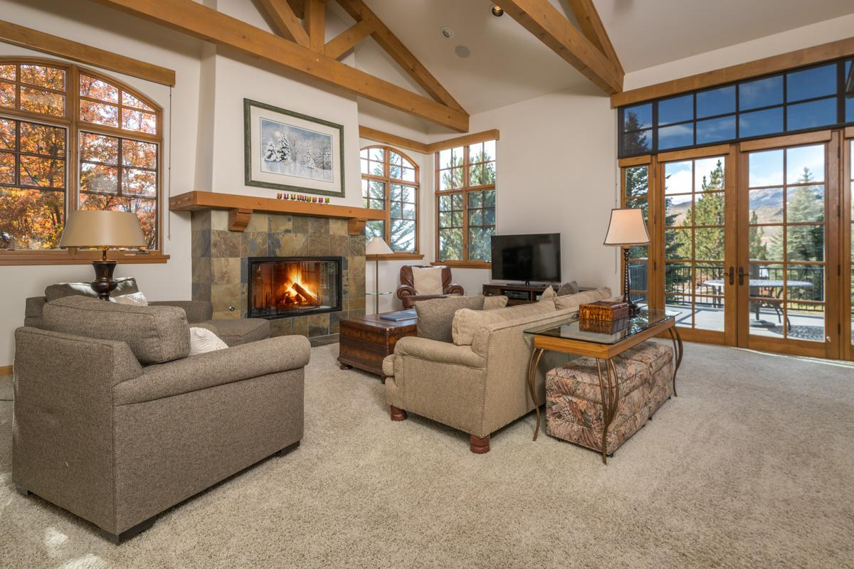 Property Image 1 - Elkhorn Townhome with Glass Walls and Mountain Views