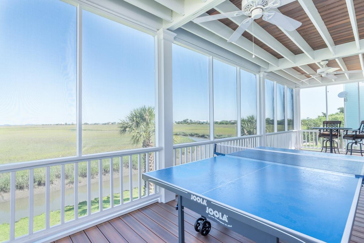 Spacious Home with Ping Pong Table and Marsh Views