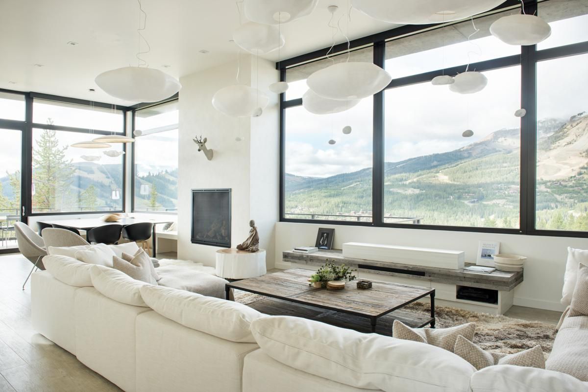 Modern Mountain Village Home with Private Ski Access