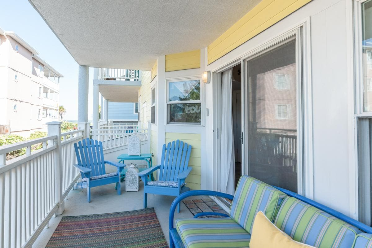 Property Image 1 - Airy Seaside Condo with Covered Porch and Ocean Views