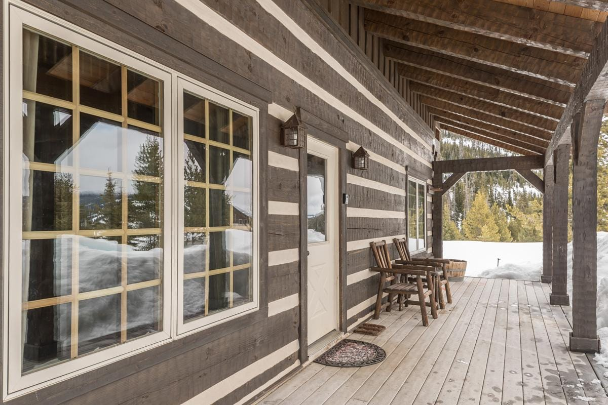 Custom Mountain Village Cabin on 30 Acres with Hot Tub