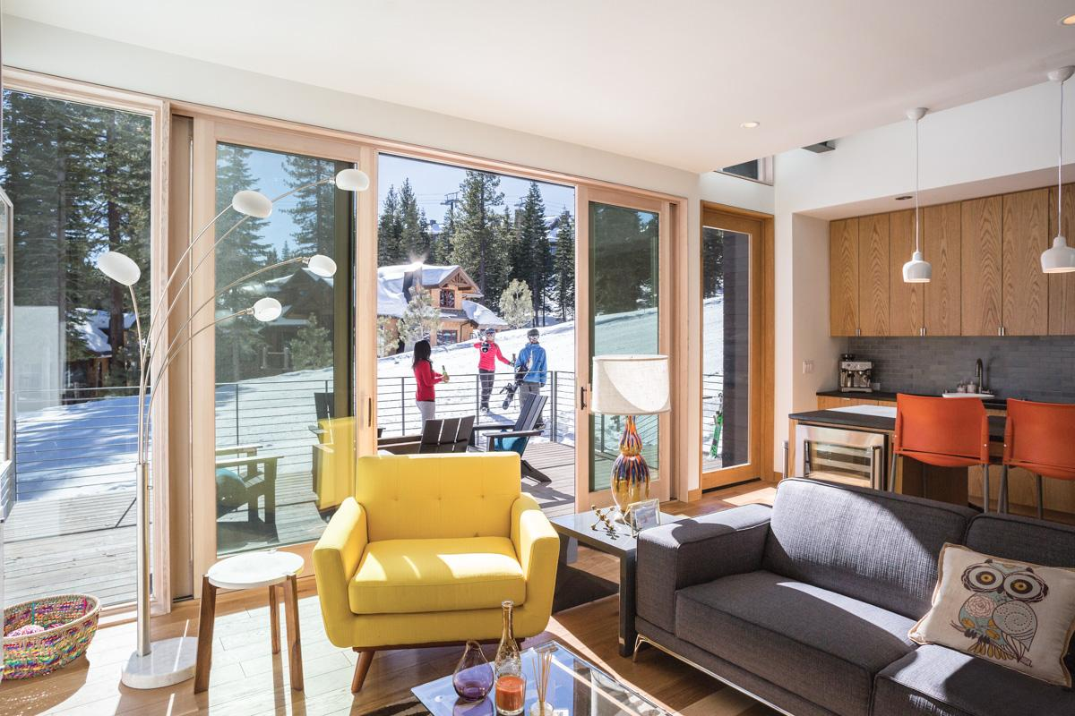 Property Image 2 - Ultra-Modern, Slopeside Townhouse with Private Hot Tub
