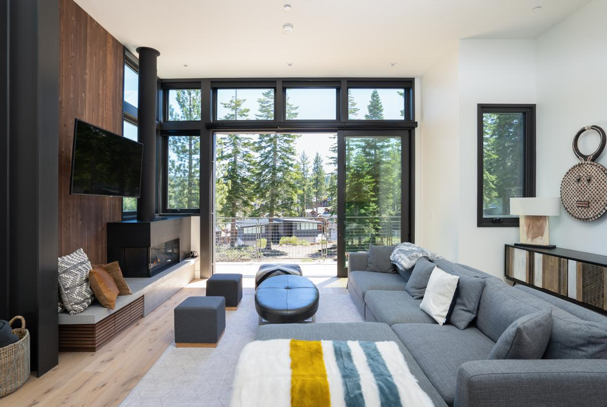 Property Image 1 - Modern Home with Glass Walls on a Ski-Through Enclave