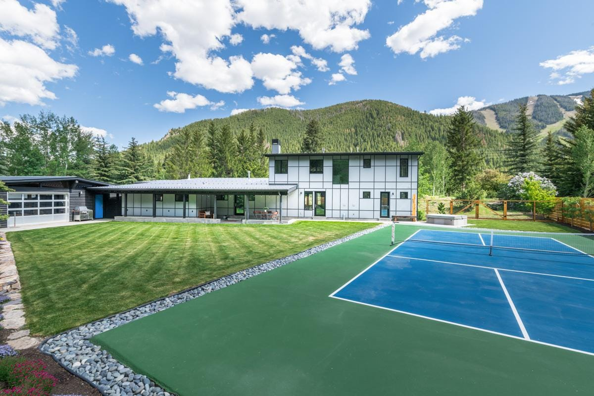 Sleek, Designer Home with Game Room & Private Tennis Court