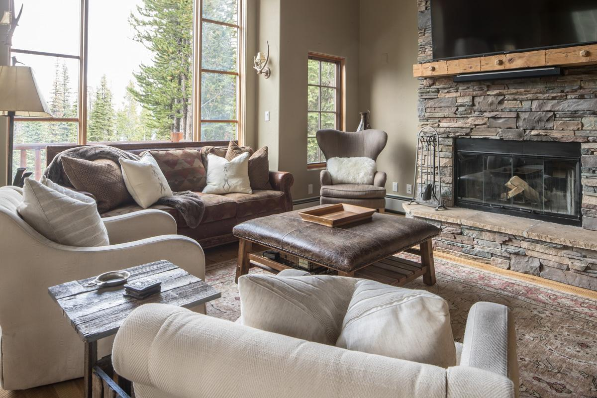Slopeside Home on Wooded Grounds with Hot Tub Access