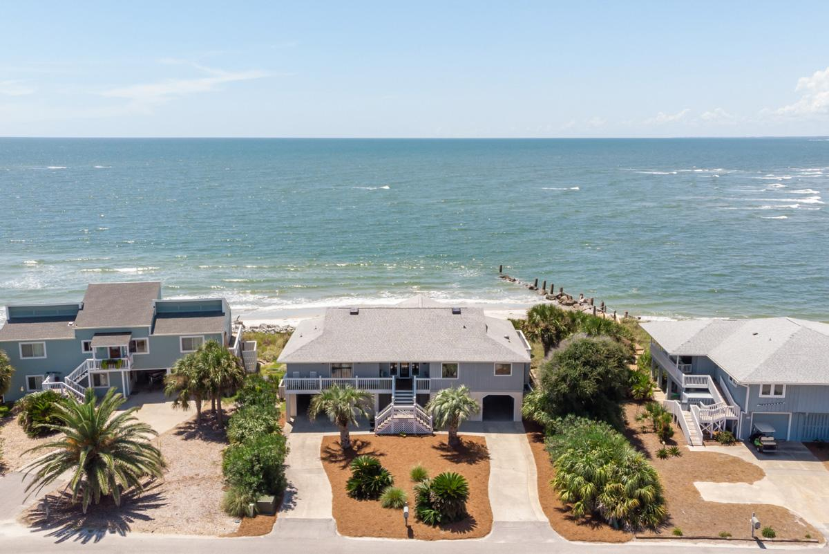 Property Image 2 - Beachfront Home with Screened-in Porch and Beach Views